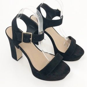ASOS DESIGN Hostess platform block heeled sandals
